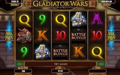 Gladiator Slots as Warrior of Money